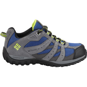 Columbia Redmond WP Chaussures Enfant, azul/bright green